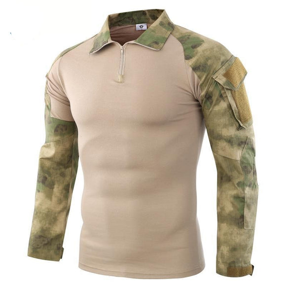 Ruin camouflage Long Sleeve Hunting T-shirt