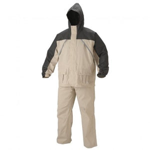 Coleman Apparel Suit PVC/Nylon Tan Size Medium