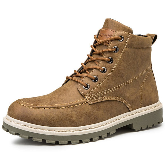 Fashion Boots Men Street Footwear
