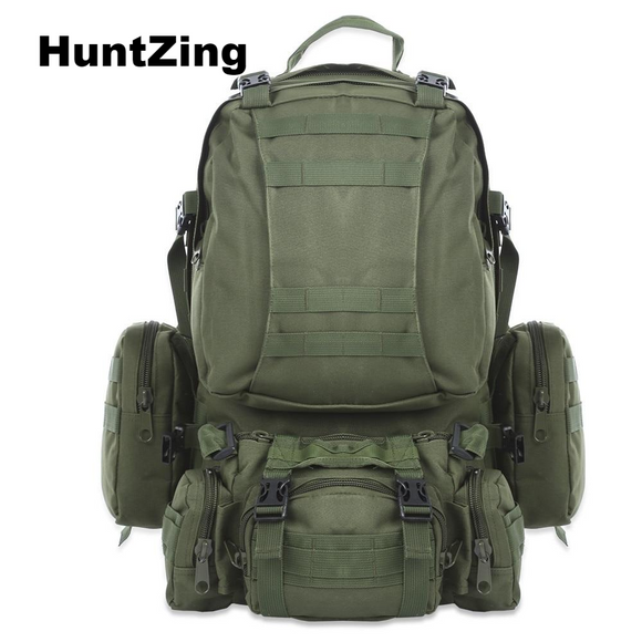 50L Outdoor Backpack HuntZing Molle Waterproof Backpack