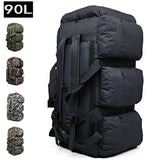 90L Large Capacity Outdoor Hiking Backpacks 9 Pockets Hunt Gear Store