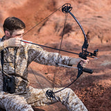 Compound Bow 30-45 lbs  Adjustable Powerful Hunting Archery Bow Hunt Gear Store