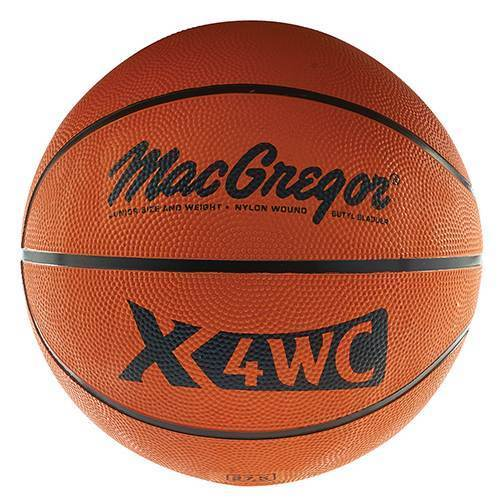 MacGregor X4WC Junior Size Rubber Basketball