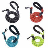 Reflective Large Dog Leash Nylon Lead Rope Hunt Gear Store