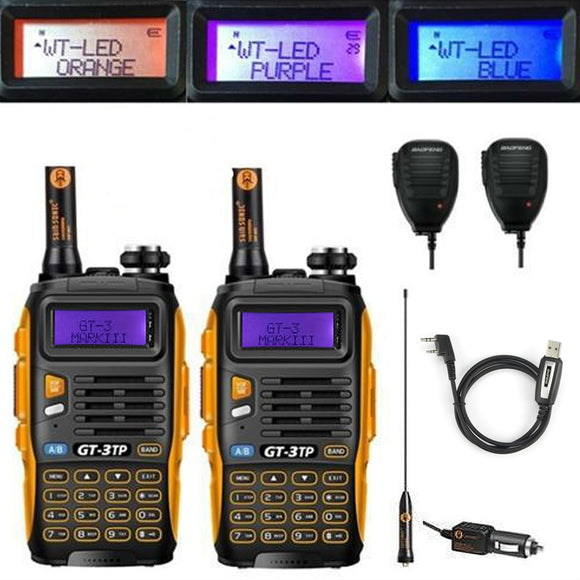 Baofeng Dual Band FM Walkie Talkie Two Radio Transceiver