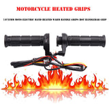 3 in1 Motorcycle Handlebar Electric Hot Heated Grips Handle +Voltage Motorcycle Motorbike New