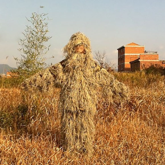 Suit  Ghillie Camouflage Fall Camo Hunt Gear Store