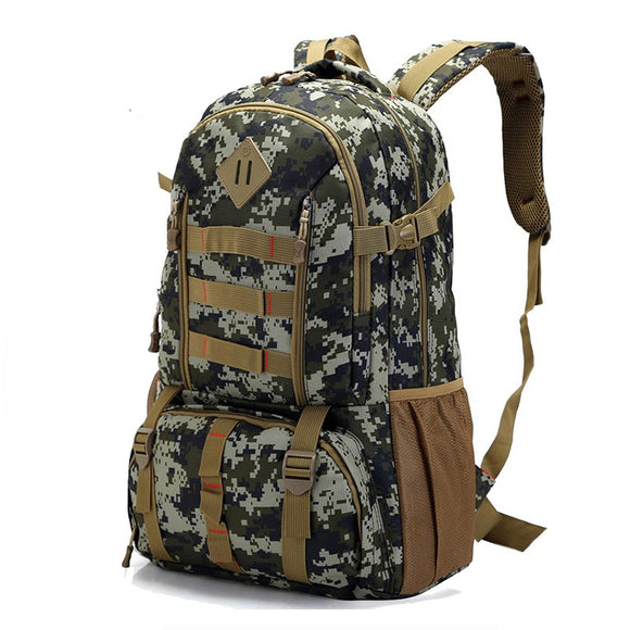 Large 50L Waterproof Molle Hiking Backpack Hunt Gear Store