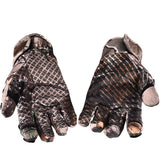 Winter Camo  Windproof Anti-Slip  Hunting Gloves