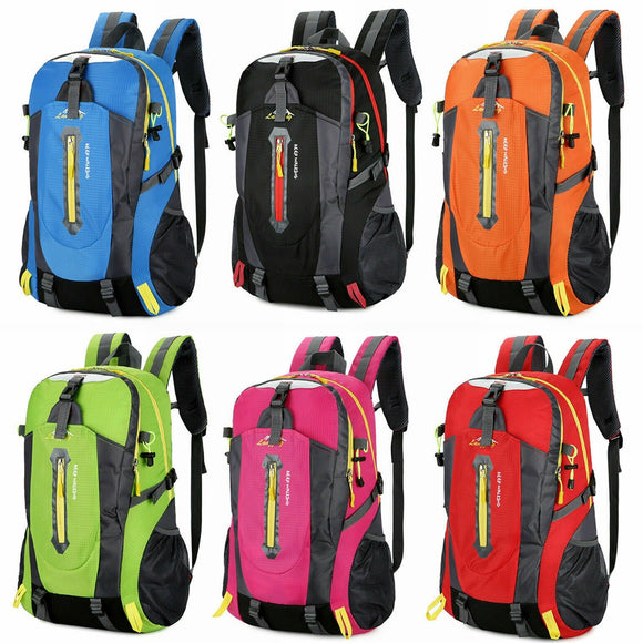 40L Outdoor Bags Backpack Travel Waterproof Backpacks