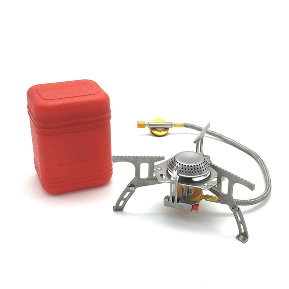 3500W Portable Outdoor Gas Stove Ultralight Hunt Gear Store