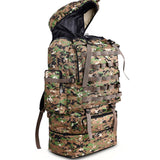 100L Mountaineering Backpack Molle Camo Bag Hunt Gear Store