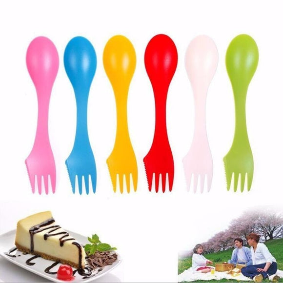 Camping Spoon Heat Resistant Spoon Fork Knife Portable Hunt Gear Store