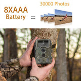 Skatolly HC800A Infrared Hunting Camera 12MP 1080P Night Vision Scouting Wild Trail Cameras Photo Traps Hunter Chasse Game Cam