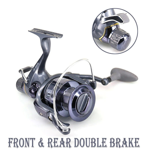 2019 Front Rear Double Brake Max Fishing Reel Hunt Gear Store
