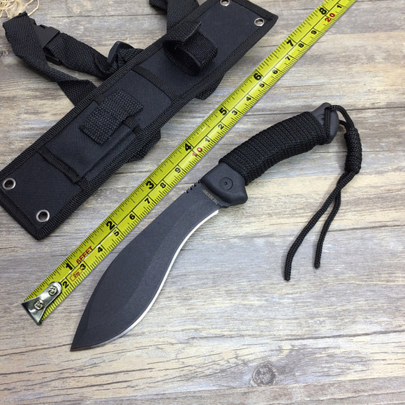 New Full Tang Outdoor Hunting Fixed Blade Knife,Tactical Jungle Knife 5Cr15Mov Blade ,EDC Survival Camping Knives Tools, Hunt Gear Store