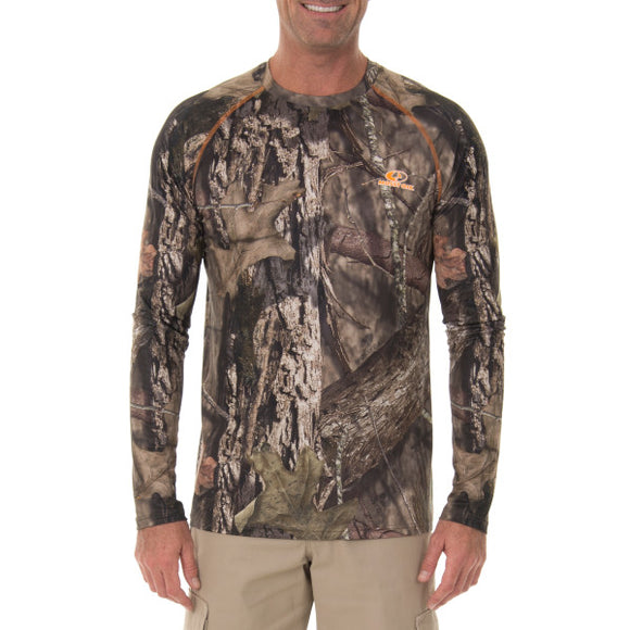 Mossy Oak Men's Insect Repellent Long Sleeve Shirt