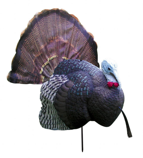 B-MOBILE TURKEY FULL STRUT GOBBLER DECOY - Free + Shipping