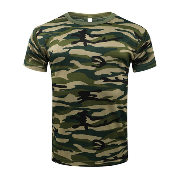 2019 Camouflage Quick Dry Breathable T-Shirts Hunt Gear Store