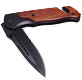 Tactical Folding Pocket Knife for Hunting Survival Rescue