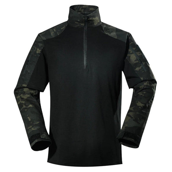 Shirt Male Long Sleeve Dry 2 Camo Versions