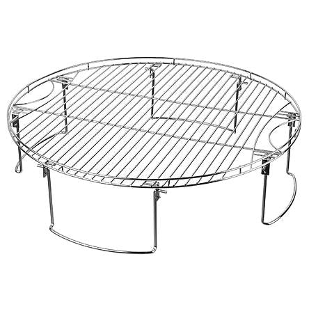 Mr. Bar-B-Q Large Round Cooking Grate with Folding Legs
