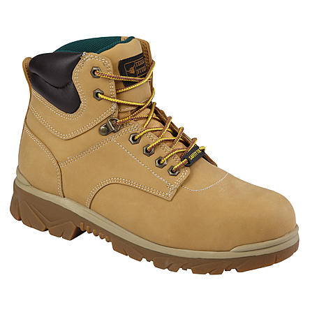 Men's Maximus Steel Toe Work Boots 3 Colors Texas Steer