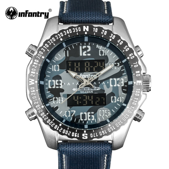 INFANTRY Watch Men LED Digital Quartz Watches