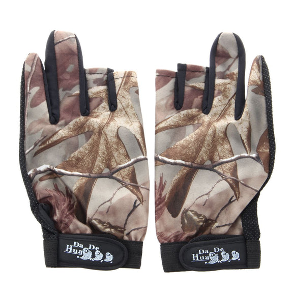 Waterproof Fishing Gloves Hunting  Anti-Slip Camouflage Hunt Gear Store