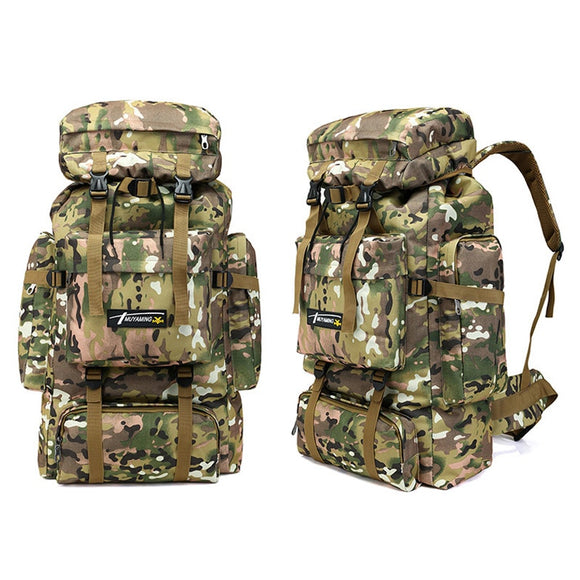 70L  Backpack Camouflage Outdoor Hunting Camping Hunt Gear Store