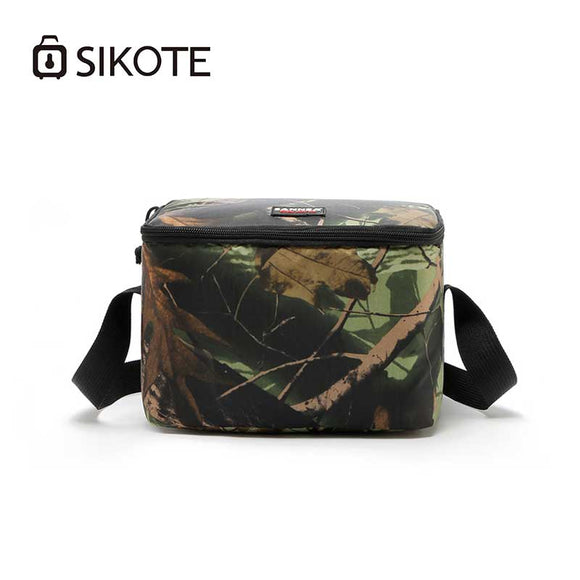 SIKOTE 7L Oxford Cloth Ice Pack Bags Portable Heat Preservation Picnic Storage Box Warm Insulation Packs Waterproof Cooler Bag