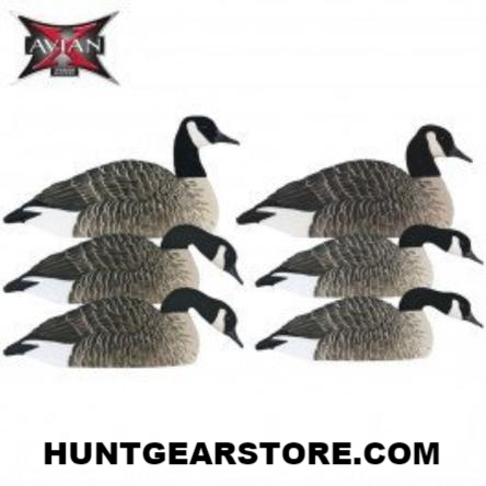 Avian-X AXF Honker Flocked Shell Decoy
