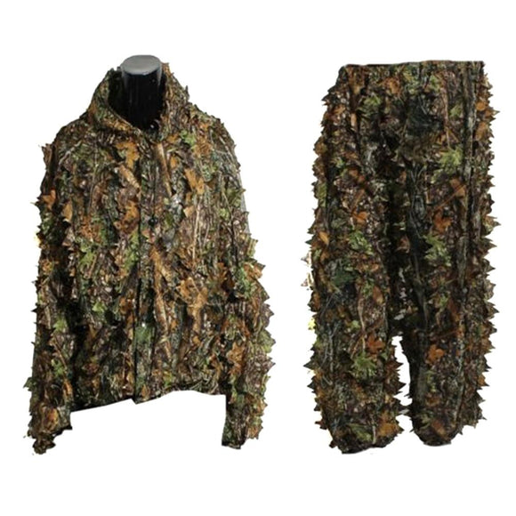 Leaf Woodland Camo Ghillie Suit