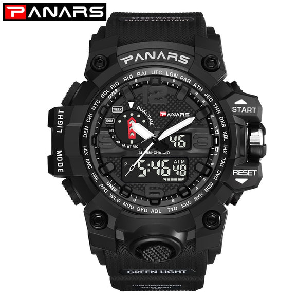 PANARS Watch Men Sport Digital Waterproof Hunt Gear Store