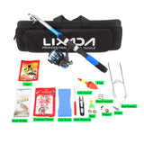 Lixada Telescopic Fishing Rod Combo Sea Spinning Reel Hunt Gear Store