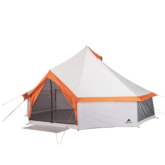 8 Person Yurt Camping Tent By Ozark Trail