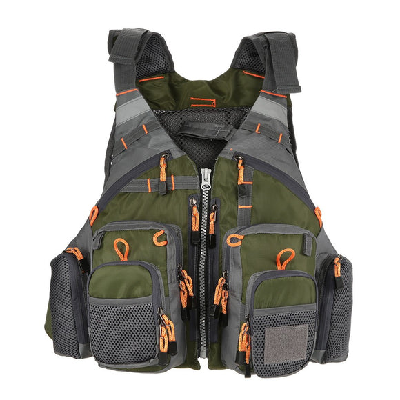 Outdoors Sport Fishing Life Vest Utility Vest