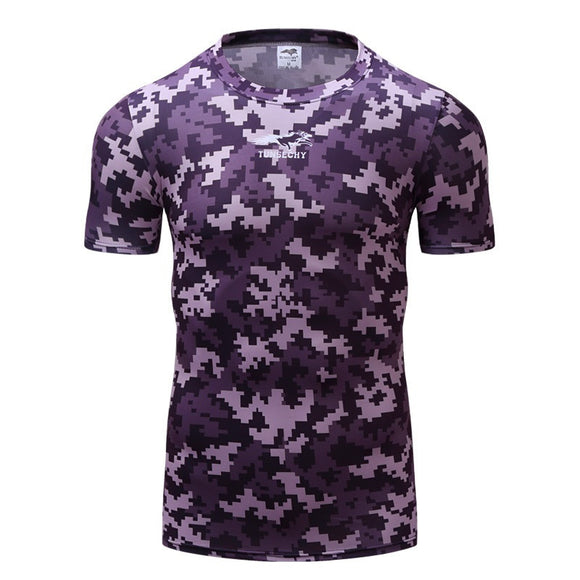 New Short Sleeve Camouflage Cotton Tee Shirts Clothes