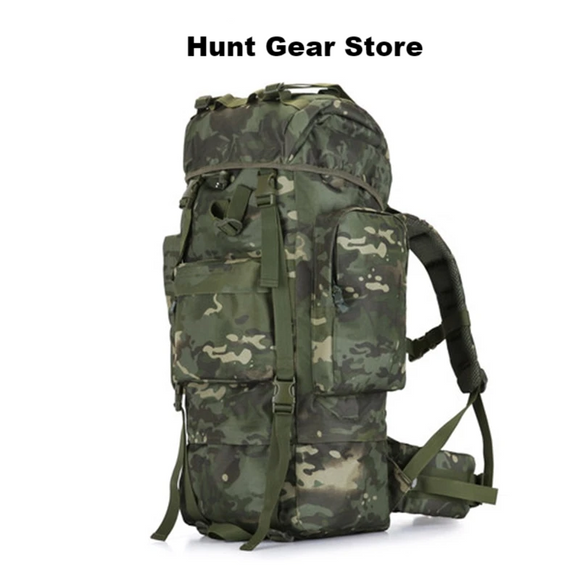 100L Water Proof Mountaineering Camping Hunting Backpack