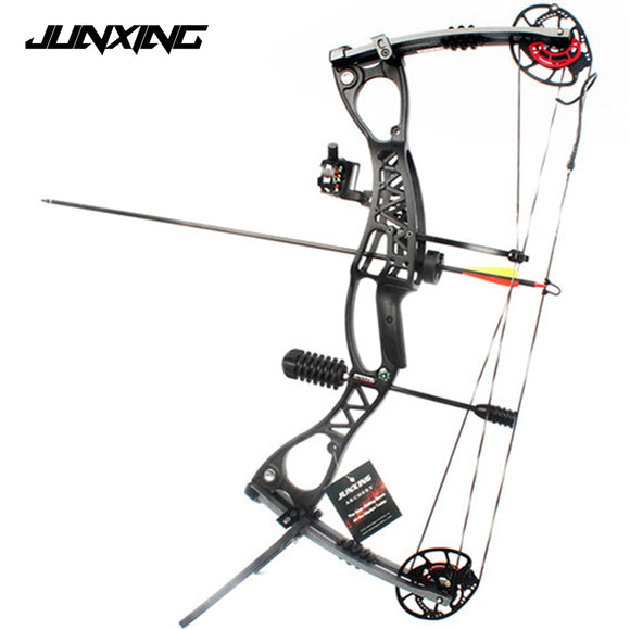M122 Compound Bow With 40-70 lbs Draw Weight Archery Competition Set Hunt Gear Store