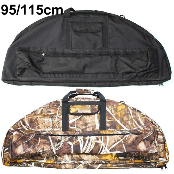 Compound Bow Bag Archery Padded Layer Foam Bow Case Arrow Hunt Gear Store