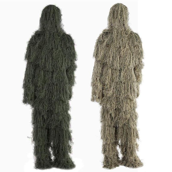 3D Leaf Camouflage Ghillie Suit Hunt Gear Store