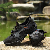 2019 Summer Men Shoes Anti-skid Hiking Hunt Gear Store