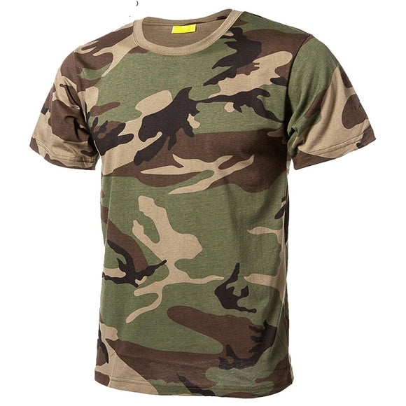 Quick Dry 10 Colors  Men's Camouflage T-Shirt Hunt Gear Store