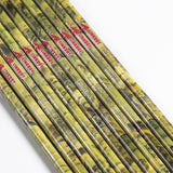 12PCS Camouflage Arrows Carbon 30'' Sp400 Compound Bow Hunt Gear Store