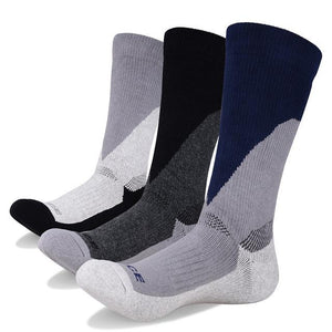 3 Pairs Men's Cotton Cushion Socks Hunt Gear Store