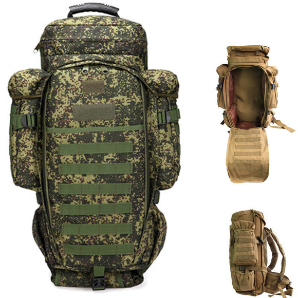Backpack Outdoor Storage Holder Gun Holder Fishing Rod Bag Hunt Gear Store