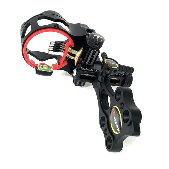 Compound Bow Sight 5 Pin Micro Adjustable Archery Sight Hunting Shooting Accessories Hunt Gear Store