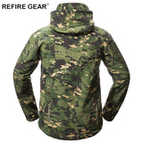 HuntGear Jacket Men Waterproof Fleece Camouflage Tactical Jackets Hunt Gear Store