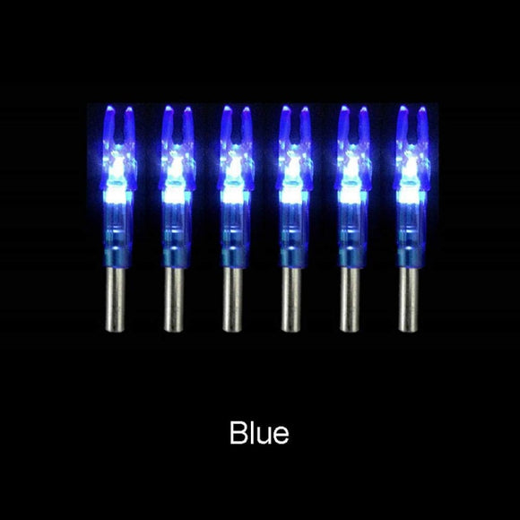Six Piece Set Super Bright LED Luminous Arrow Nocks Hunt Gear Store